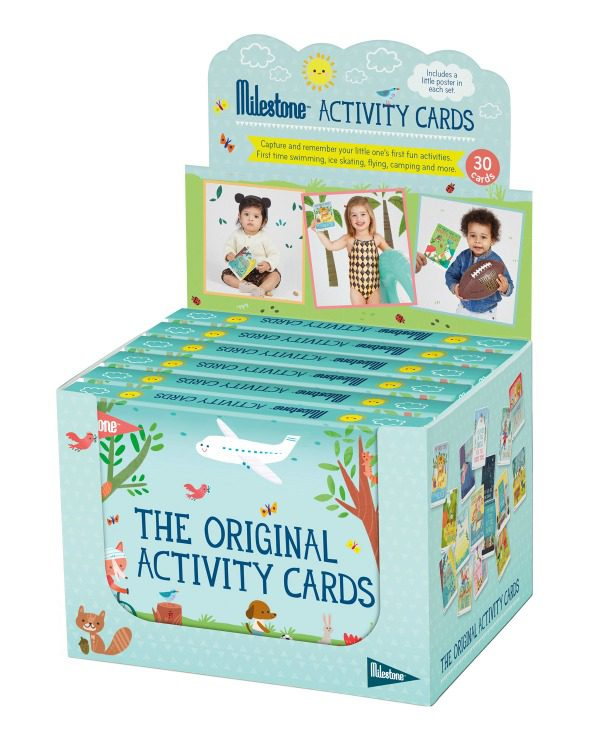 Activity Cards by MILESTONE™: Englisch - display 6 St.