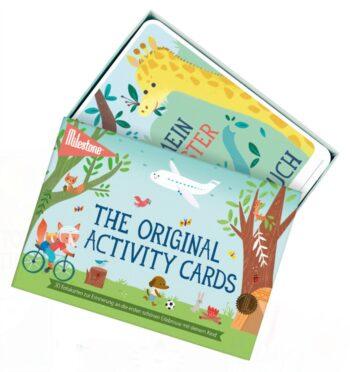 Activity Cards by MILESTONE™: Deutsch - sealed (6 St.)