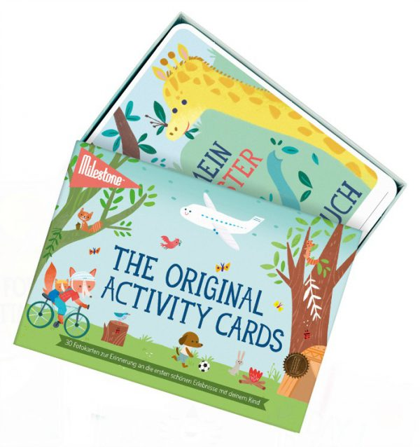 Activity Cards by MILESTONE™: Deutsch - sealed (6 St.)