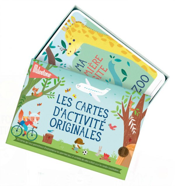 Activity Cards by MILESTONE™: Französisch - sealed (6 St.)