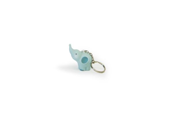 Balthazar Elefanten Schlüsselanhänger - Mint-Grün