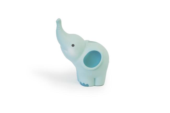 Balthazar Elefanten Spardose gross - Mint-Grün