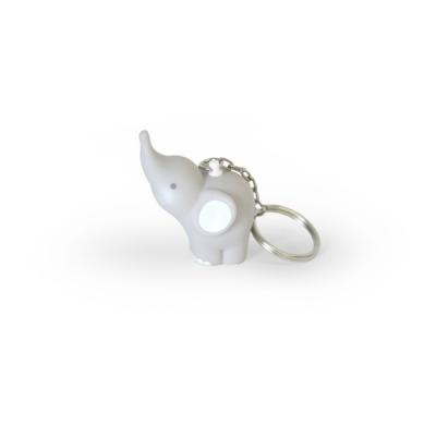 Balthazar Elefanten Schlüsselanhänger - Hell-Grau