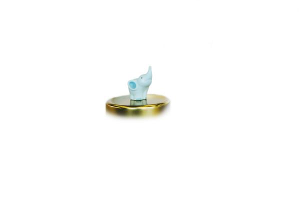 Balthazar Elefanten Magnet - Mint-Grün