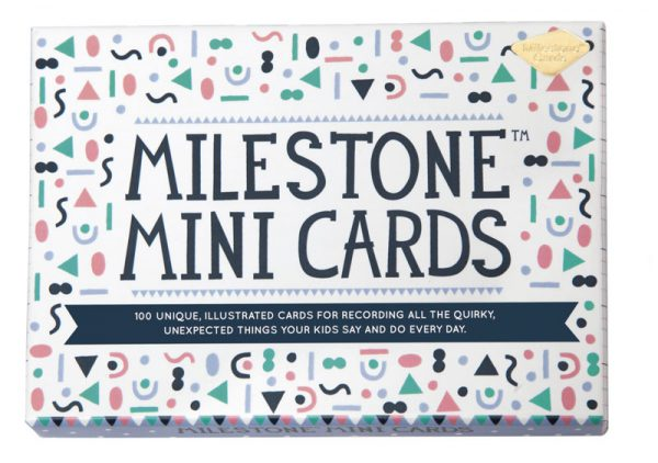 Mini Cards by MILESTONE™: Englisch - display 6 St.